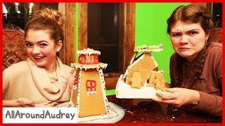 DIY Gingerbread House Making FAiL / AllAroundAudrey