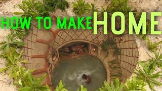 How to make home Dig To Build Fantastic Underground Well's House With Awesome Swimming Pool