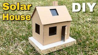 Free Energy - How to Make Solar Powered House (Doll House)