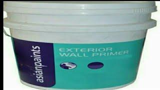 How to apply Asian primer on walls