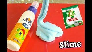 How to Make Slime with Fevicol and Ariel Detergent without Borax