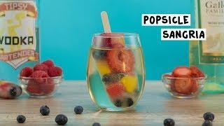 White Wine Popsicle Sangria - Tipsy Bartender