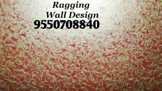 Asian paint Royal play ragging home appliances wall fashion design from Hyderabad 9550708840