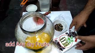 Mangoes wine Make at home आम की वाईन बनाना सीखें Desi Daru Shrab & wine Recipes in hindi