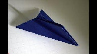 How to Make a Star War Simple Origami Paper Plane