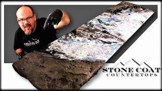 Faux Stone with Epoxy