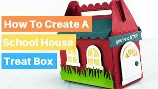How To Make School House Treat Box | Lawn Fawn