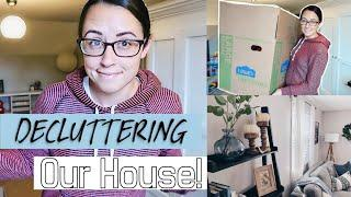 Decluttering my WHOLE HOUSE | Moving preparation!