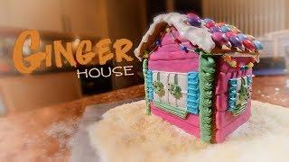 How to make a Gingerbread house from scratch / step-by-step tutorial