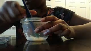 How to make slime with toothpaste and sugar (No borax No glue slime recipe)