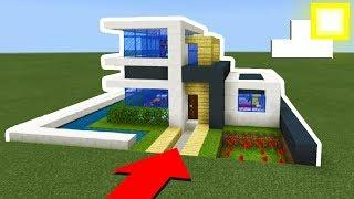 How To Make A Modern House In Minecraft Easy