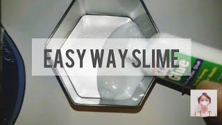 DIY EASY SLIME | how to make Slime Philippines - Easy Way Slime | Christian Neil Mercado