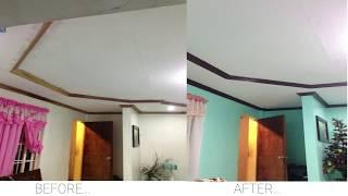 HOW TO PAINT THE CEILING IN YOUR HOME |2019|