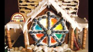 Gingerbread House Windows 5 Ways