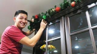 Decorating the house for Christmas!