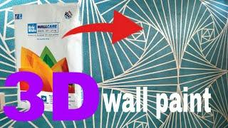 3D wall paint design Nazim