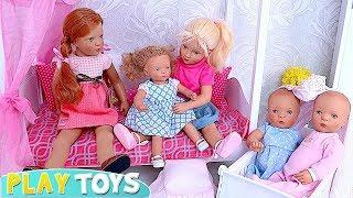 Learn how to make the perfect gift for newborn baby dolls twins!????Fun craft for kids!