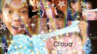 How To Make Cloud Slime With Instant Snow