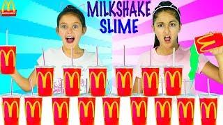 Don't Pick the Wrong McDonald's MILKSHAKE Slime Challenge!!!