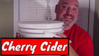 How to Make Cherry Cider | Small Batch Cider