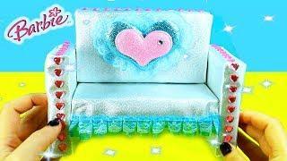 ???? How to Make Miniature Dollhouse Furniture: Sofa  - DIY Tutorial