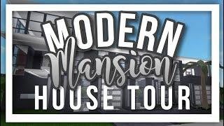 MODERN MANSION HOUSE TOUR || BLOXBURG