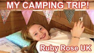 My Camping Trip!! *Family Camping & Camping Pod/House Tour | Holiday Vlog 2019 | Ruby Rose UK