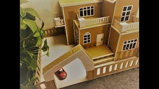 AMAZING Zen House out of Cardboard as DIY Project