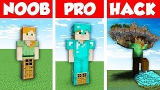 Minecraft NOOB vs PRO vs HACKER : ALEX HOUSE in Minecraft Animation