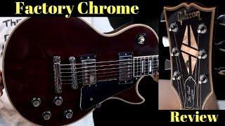 March 32, 1978 | Gibson Les Paul Custom Wine Red Factory Chrome Hardware | Review + Demo