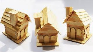 How To Make A Popsicle Stick House |Ice-cream Stick Easy Craft Idea|DIY|