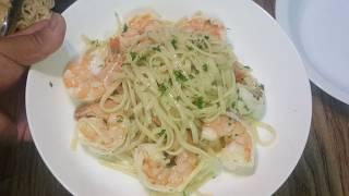 How to make Shrimp Scampi Linguini Pasta w/o White wine. ????