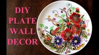 DIY PLATE WALL DECOR