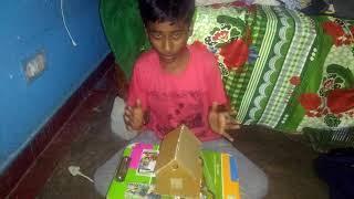 How to make a cardboard birds house