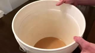 Making Nectarine Wine - Phase 2
