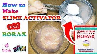 How to make slime activator | slime activator at home, slime activator with borax ????