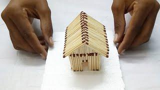 Matchbox House | How to Make a Match House | How to Make a Match Stick House | Mr Nirmal |