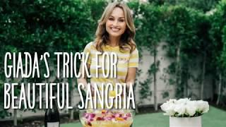 Giada's Trick For Beautiful Sangria