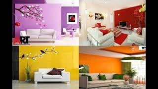 Living Room Color Combination ideas | Top 100 Painting Colour Combination For Room Walls 2019