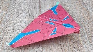 DIY Paper Airplanes : Super Fin Planes Throws Paper Tutorials | How to Make Origami Toy Kids