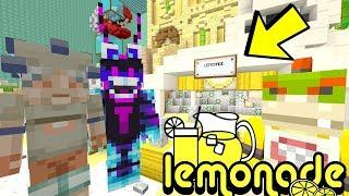 BOWSER JR'S LEMONADE STAND! *GETTING RICH!?* | Nintendo Fun House | Minecraft Switch [328]