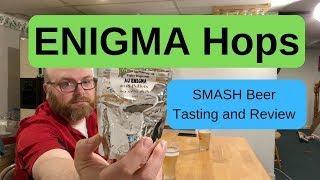 What do Enigma hops taste like? SMASH Beer Experiment
