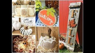 50+ Awesome Fall Crafts Ideas To Make And Sell 2018