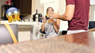 Drinking Wine While Pregnant Prank! (Gone Wrong)