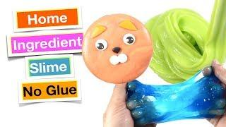 How To Make Slime With Home Ingredients Without Glue!! No Glue Best Slime Recipes