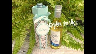 Mini Wine Bottle Gift Box