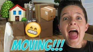MOVING DAY!!! PACKING UP THE HOUSE! | Brock and Boston ????
