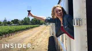 We Rode the Napa Valley Wine Train