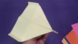 Cool Paper Airplanes Designs Tutorial | How To Make A Cool Paper planes That Flies Far
