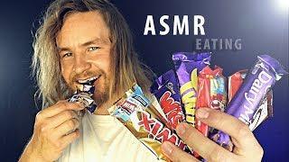 [ASMR] English Chocolate Tasting: Eating Sounds